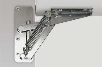 Пружинный подъемный механизм для узких фасадов