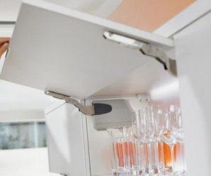 Подъемные механизмы для антресолей и горизонтальных кухонных шкафов