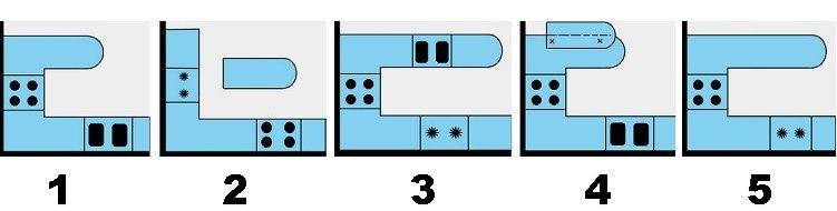 модели и виды барных стоек