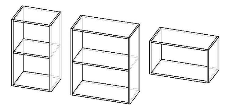 навесные шкафы на кухню своими руками