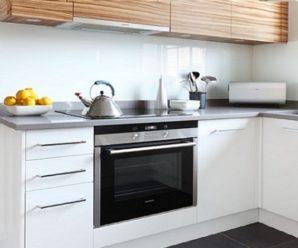 Классический и современный стиль угловой кухни