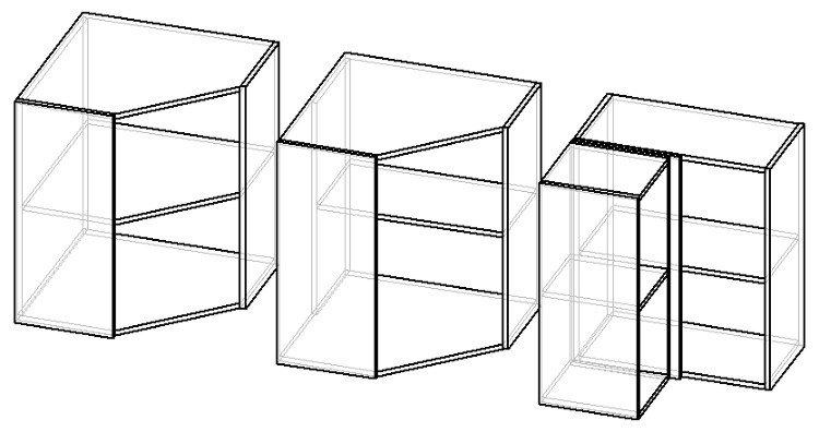 угловые навесные шкафы своими руками