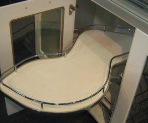 Нижние угловые шкафы кухни: современное наполнение и оптимизация