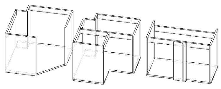 нижний угловой шкаф для кухни