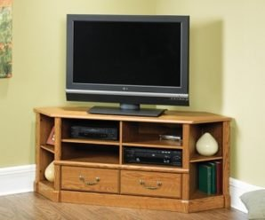 Угловая тумба под телевизор своими руками