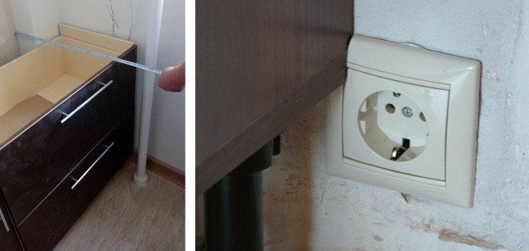ошибки при замерах помещения под мебель
