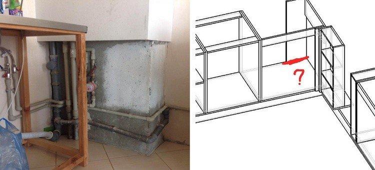 замеры кухонной мебели