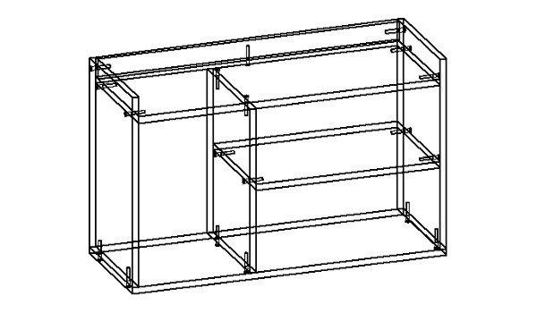 сборка мебели на конфирматы