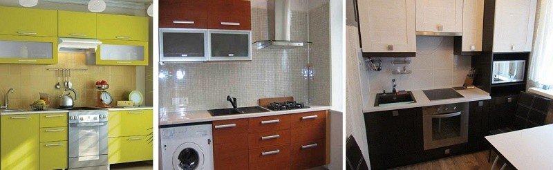 дизайн проект маленькой кухни фото