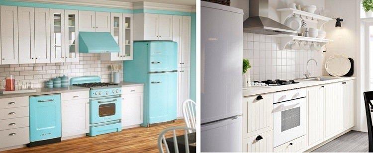 дизайн проект прямой кухни