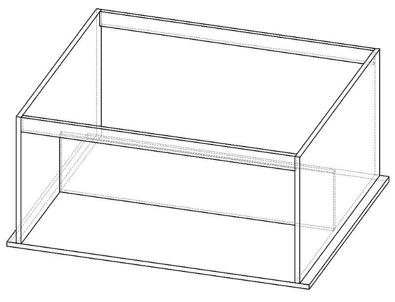конструкция антресоли шкафа над дверью