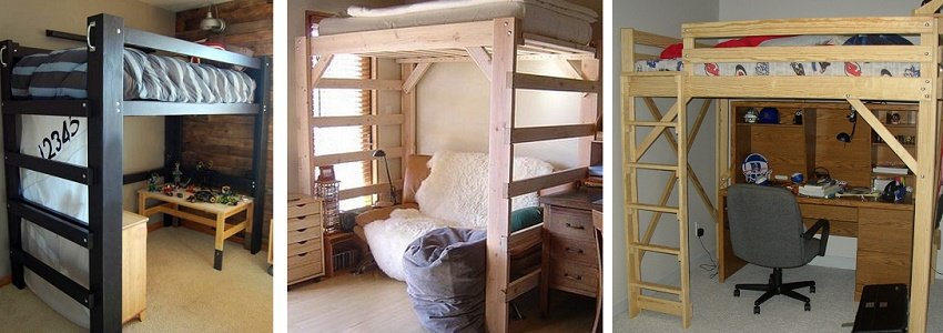 кровать чердак фото моделей