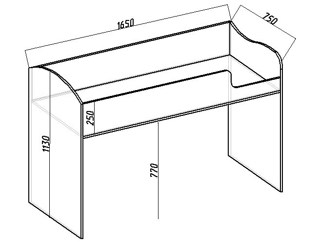 чертеж кровати чердака своими руками - надстройка со спальным местом