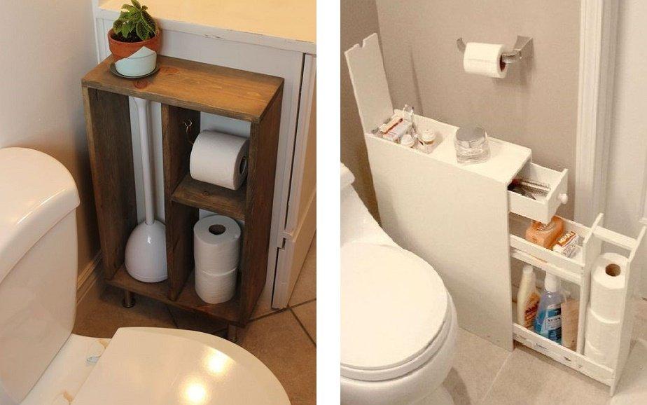 тумба для туалета своими руками
