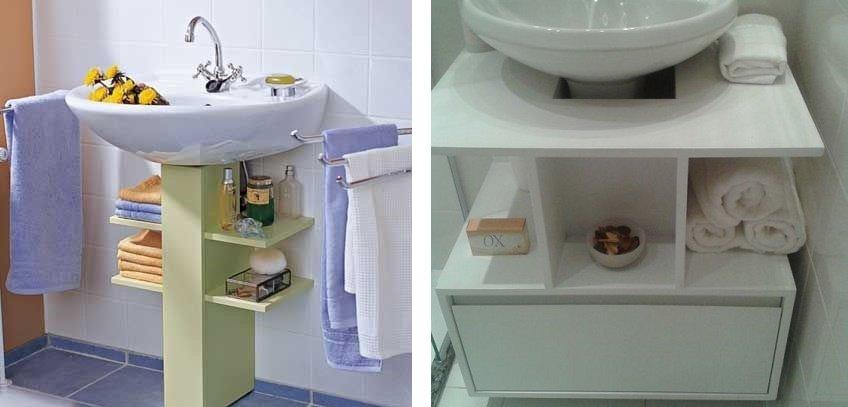 тумба-надстройка для ванной своими руками