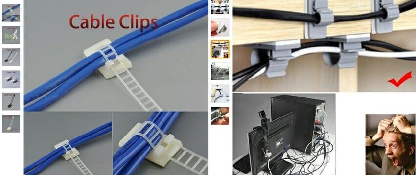 кабельные зажимы для проводов с алиэкспресс