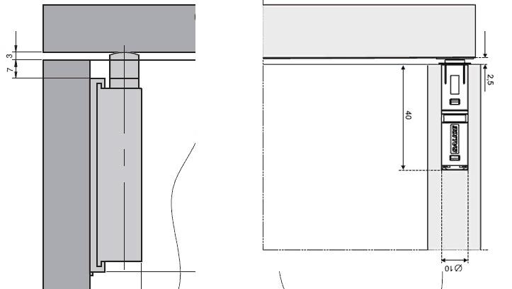 Как установить толкатели для фасадов