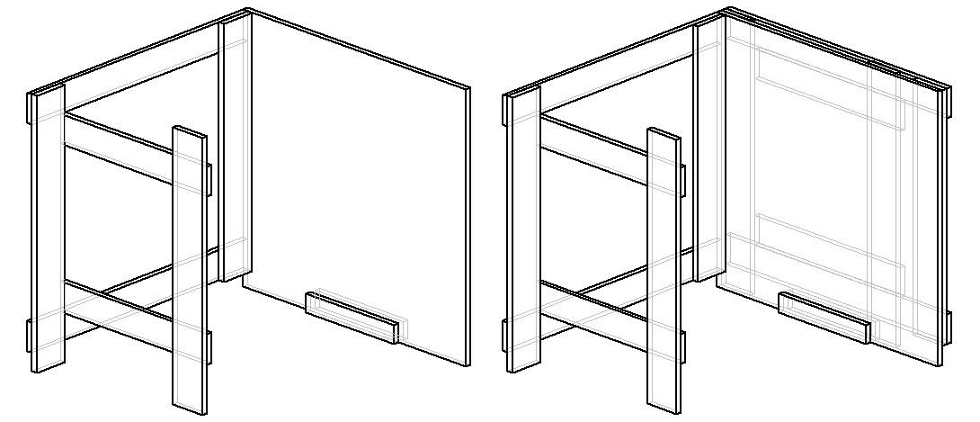 чертеж как сделать стол-книжку своими руками