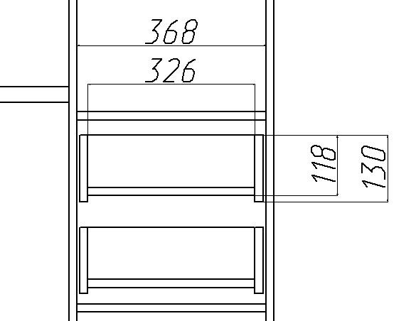 как рассчитать ящик на направляющие скрытого монтажа