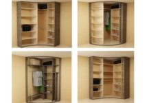 Как спроектировать угловой шкаф-купе: чертежи, размеры, внутреннее наполнение