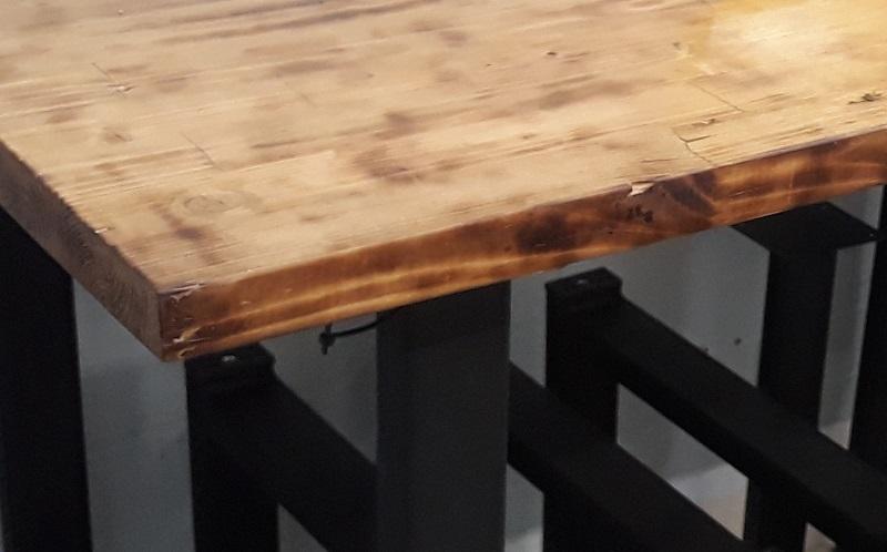 состаренная мебель в стиле лофт
